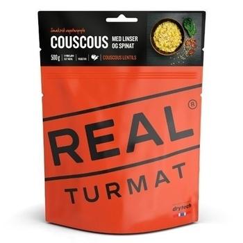 Bästa frystorkade maten 2019 - Couscous med linser och spenat från Real Turmat